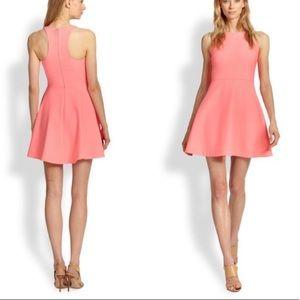 Elizabeth & James Magdalena Pink Fit n Flare Dress